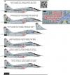 Mikoyan Gurevitch MiG-29 Russian AF 1\72