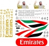Airbus A-380 Emirates 2018 Decal 1\144