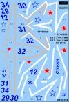 Mikoyan Gurevitch Mig-29 Swifts 2018 decal 1\72