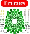 Airbus-380 Emirates EXPO 2020 decal 1\144