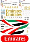 Airbus A-380 Emirates ICC World Cup 2015 decal 1\144