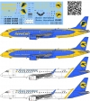 Embraer 190 Ukrainian Airlines decal 1\144