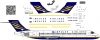Boeing 717 Impulse Airlines decal 1\144