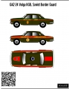 GAZ-24 KGB USSR 1\43 decal