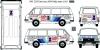 RAF 2203 service lada rally team decal scale 1\43