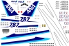 Boeing 787-800 ANA decal scale 1\144