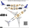 Boeing 777-300ER ANA Star Wars decal 1\144