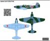 Yakovlev Yak-9 USSR AF 1944 scale 1\48