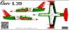 Aero L-39 Belaya Rus aerobatic team decal  1\48