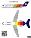BAC1-11 Air Pacific decal 1\144