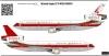 MC Donnel Douglas DC-10 decal 1\72