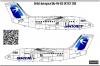 British Aerospace BAe-146 SKYJET decal 1\144