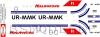 Yakovlev Yak-40 Ilychevets air company decal 1\100