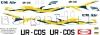 Antonov An-24 UM Air decal 1\100