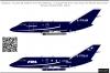Dassault Falcon20 Cobham Aviation Service decal 1\72