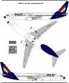 Boeing 737-800 Malev decal 1\100
