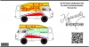 UAZ-450 Queen of the gaz station 1962 decal scale 1\43